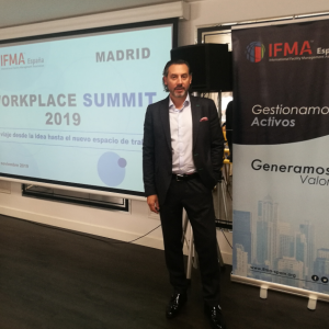 Luis del Barrio en el Workplace Summit