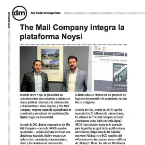 Acuerdo The Mail Company/Noysi